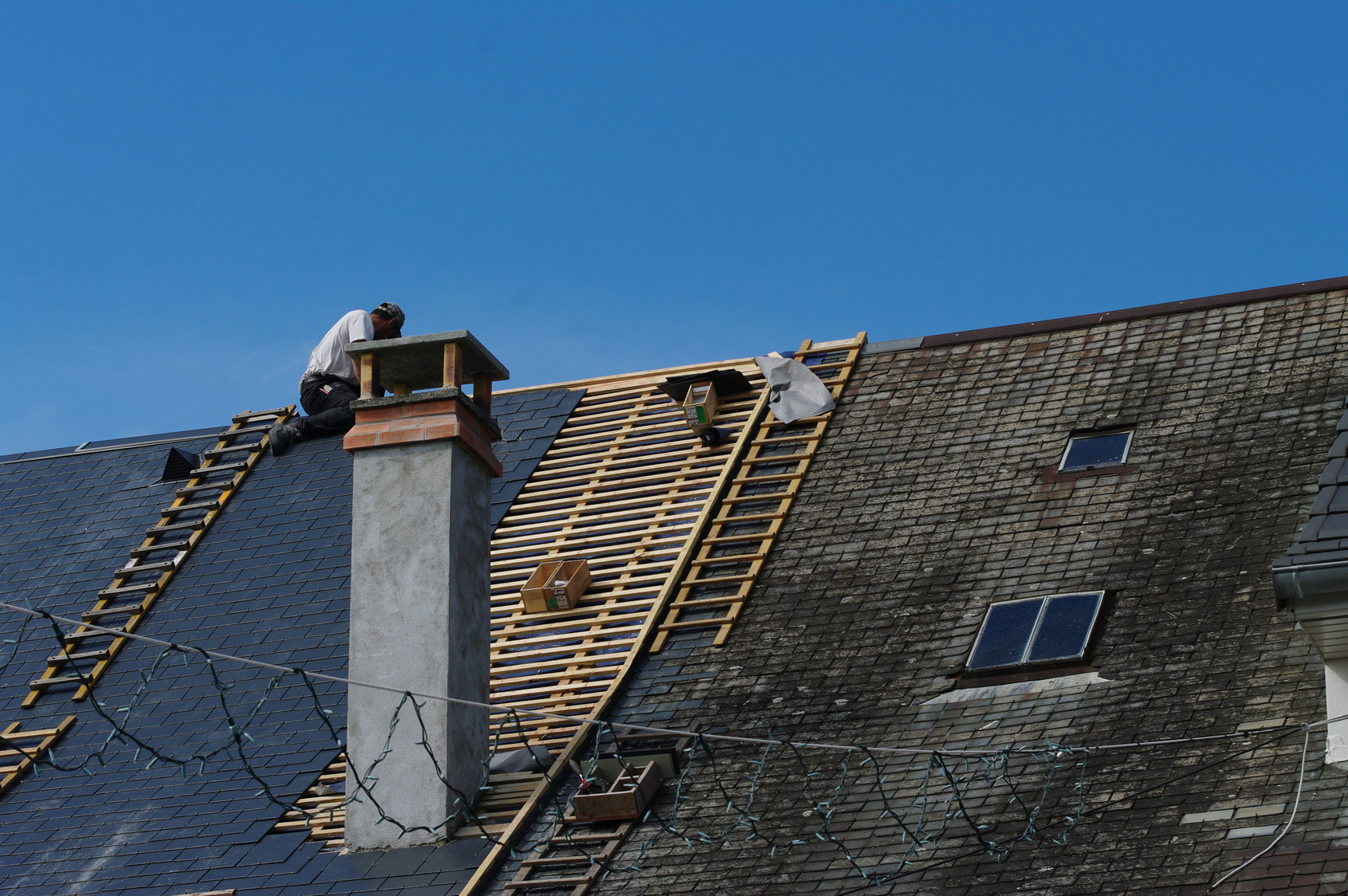 Reparation toiture ardoise prix