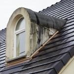Infiltration eau toiture.