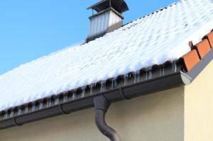 Gouttière toiture.