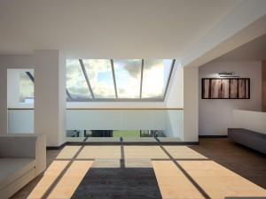 puits de lumière dans maison