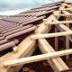 Travaux de rénovation d'une toiture