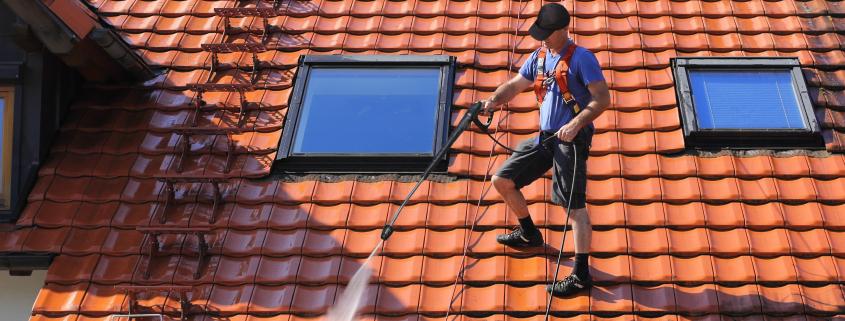 nettoyer une toiture