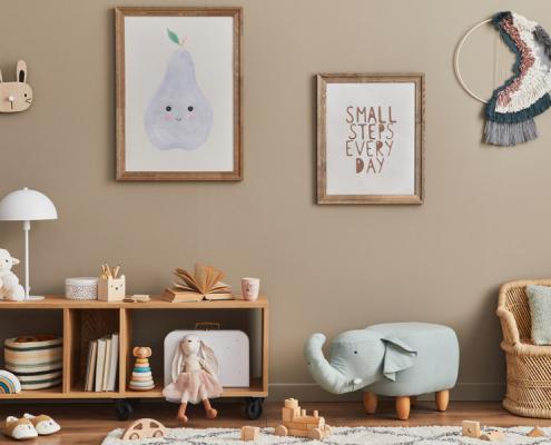 Aménagement d'une chambre d'enfant